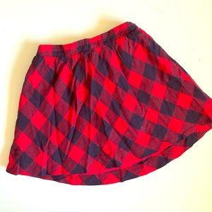 Baby Gap flannel skirt